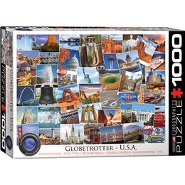 Eurographics Globetrotter USA 1000 Pieces
