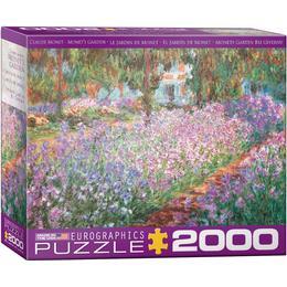 Eurographics Monet's Garden 2000 Pieces
