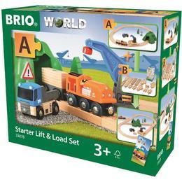 Brio Starter Lift & Load Set 33878