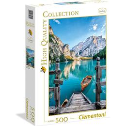 Clementoni High Quality Collection Braies Lake 500 Pieces