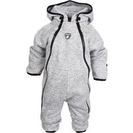 Lindberg Bormio Baby Overall - Grey Melange (2150330)