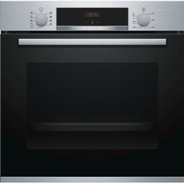 Bosch HBS534BS0B Black, Red, Stainless Steel
