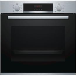 Bosch HBS573BS0B Black, Red, Stainless Steel