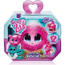Moose Little Live Scruff a Luvs Plush Mystery Rescue Pet Pink