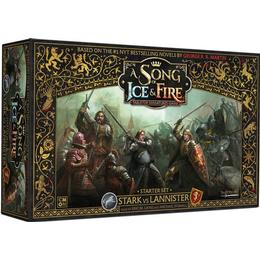 CMON A Song of Ice & Fire: Tabletop Miniatures Game Stark vs Lannister Starter Set