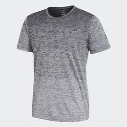 Adidas FreeLift Gradient Tee Men - Grey/Black/White