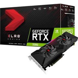 PNY GeForce RTX 2080 8GB XLR8 Gaming (VCG20808DFPPB-O)