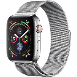Apple Watch Series 4 Cellular 40mm Stainless Steel Case with Milanese Loop