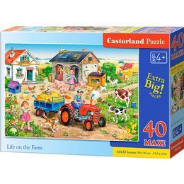 Castorland Life on the Farm Maxi 40 Pieces
