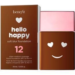 Benefit Hello Happy Soft Blur Foundation SPF15 #12 Dark Warm
