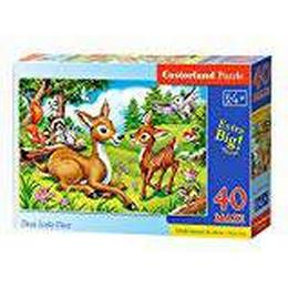 Castorland Dear Little Deer Maxi 40 Pieces