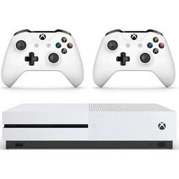 Microsoft Xbox One S 1TB - Two Controller Bundle