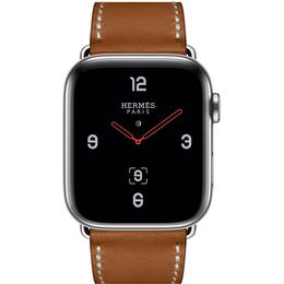 Apple Watch Hermès Series 4 Cellular 44mm Stainless Steel Case with Deployment Buckle