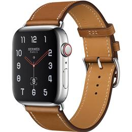 Apple Watch Hermès Series 4 Cellular 44mm Stainless Steel Case with Single Tour