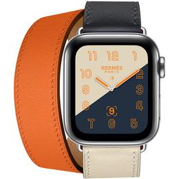 Apple Watch Hermès Series 4 Cellular 40mm Stainless Steel Case with Double Tour
