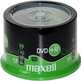 Maxell DVD+R 4.7GB 16x Spindle 50-Pack (275736)