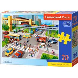 Castorland City Rush 70 Pieces