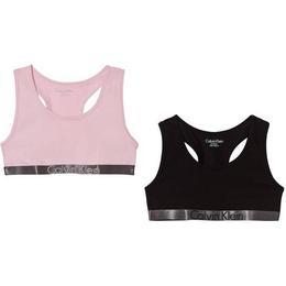 Calvin Klein Customized Stretch Girls Bralettes 2-pack - Black/Unique
