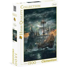 Clementoni High Quality Collection The Pirate Ship 1500 Pieces