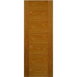 JB Kind Royale VP7 Oak Pre-finished Interior Door (68.6x198.1cm)