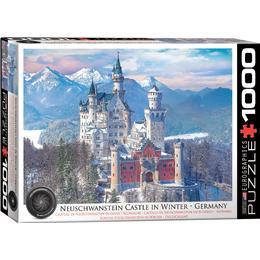Eurographics Neuschwanstein Castle in Winter 1000 Pieces