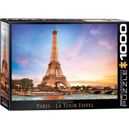 Eurographics Paris La Tour Eiffel 1000 Pieces