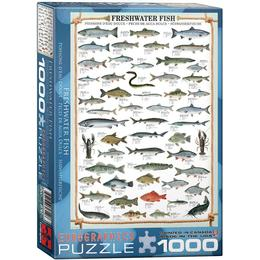 Eurographics Freshwater Fish 1000 Pieces