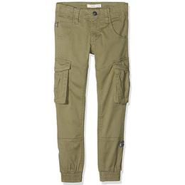 Name It Regular Fitted Cargo Pants - Green/Deep Lichen Green (13151735)