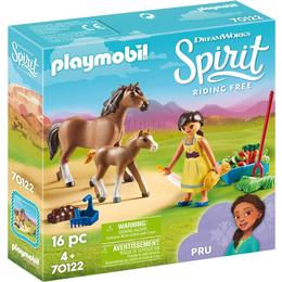Playmobil Pru with Horse & Foal 70122