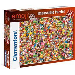 Clementoni Emoji Impossible Puzzle 1000 Pieces