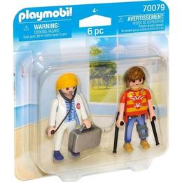 Playmobil Doctor & Patient 70079