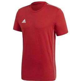 Adidas Core 18 Tee Men - Power Red/White