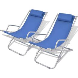 vidaXL 42935 2-pack Reclining Chair