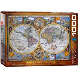 Eurographics Antique World Map 1000 Pieces