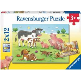 Ravensburger Happy Animal Families 2x12 Pieces