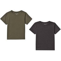 Minymo Basic 32 T-shirt 2-pak - Beetle (3932-978)