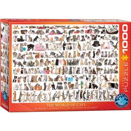 Eurographics The World of Cats 1000 Pieces