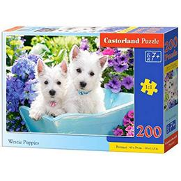 Castorland Westie Puppies 200 Pieces