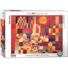 Eurographics Castle & Sun 1000 Pieces