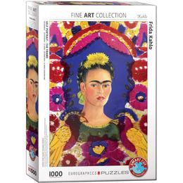 Eurographics Frida Kahlo Self Portrait the Frame 1000 Pieces