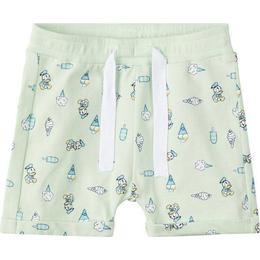 Name It Baby Disney Donald Duck Print Shorts - Green/Spray (13166272)