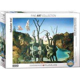Eurographics Swans Reflecting Elephants 1000 Pieces