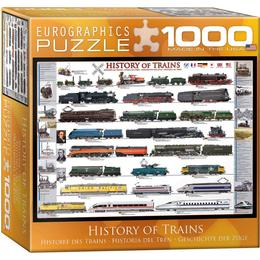 Eurographics History of Trains 1000 Pieces