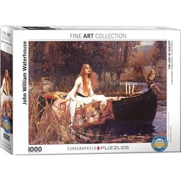 Eurographics The Lady of Shalott 1000 Pieces