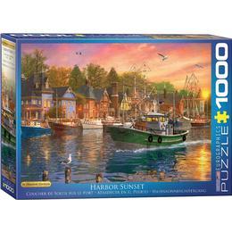 Eurographics Harbor Sunset 1000 Pieces