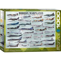 Eurographics Modern Warplanes 1000 Pieces