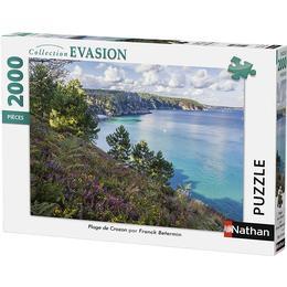 NATHAN Beach of Crozon 2000 Pieces