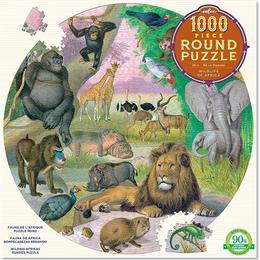 Eeboo Wildlife of Africa 1000 Pieces