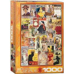 Eurographics Theater & Opera Vintage Posters 1000 Pieces