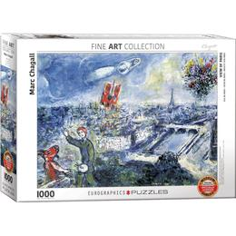 Eurographics Le Bouquet De Paris 1000 Pieces